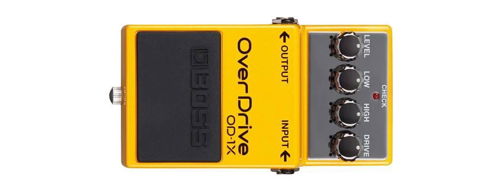 BOSS OD-1X OverDrive, il miglior pedale overdrive per chitarra elettricastr