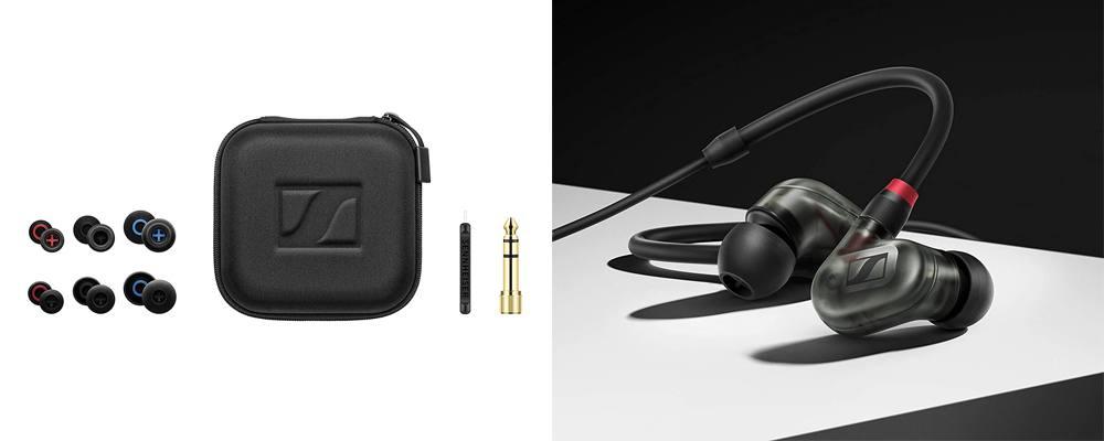 Sennheiser IE 400 Pro Smoky Black, i migliori auricolari In-EAr Monitor