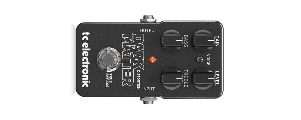 TC ELECTRONIC Dark Matter Distortion, il miglior pedale distorsione per chitarra elettrica
