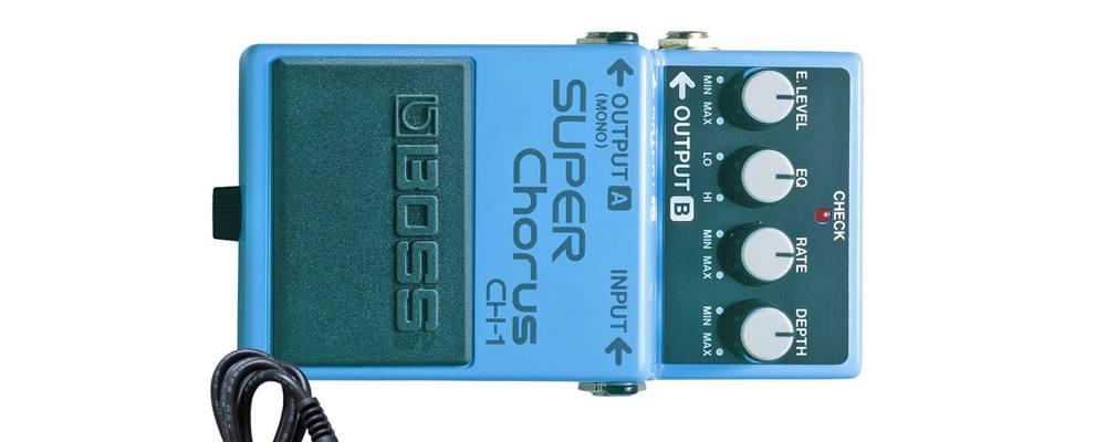 BOSS CH-1 Super Chorus, il miglior pedale effetto Chorus