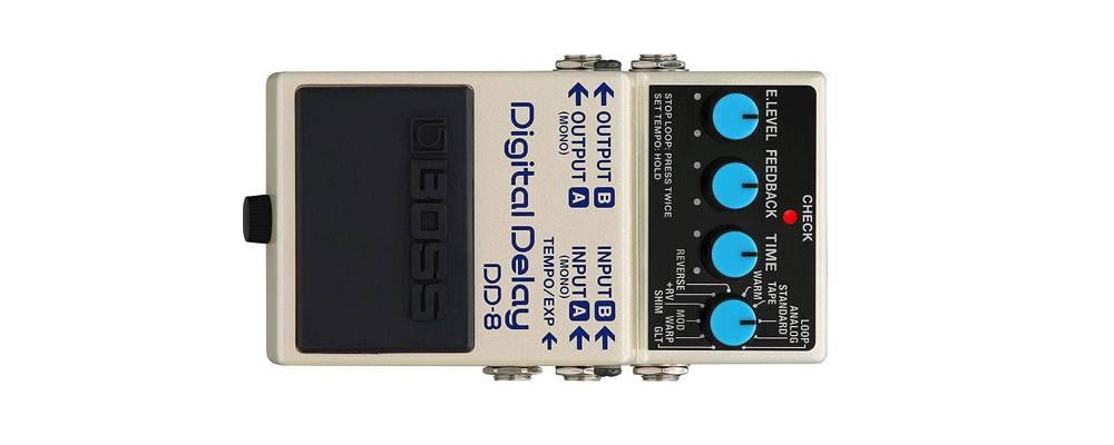 BOSS DD-8 Digital Delay, il miglior pedale effetto Delay