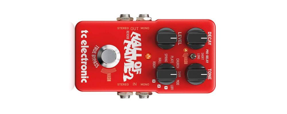 TC ELECTRONIC Hall of Fame 2 Reverb, il miglior pedale effetto Riverbero